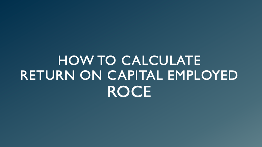 How to Calculate ROCE?