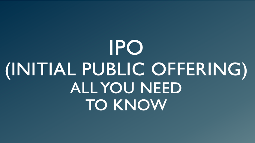 Initial Public Offering (IPO) Explained